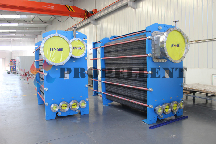 High Heat Transfer Efficiency Plate Evaporator and Its Systems/Units