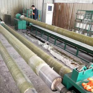 GRP Add Sand Pipe Winding Machine/ FRP Sewage Pipe