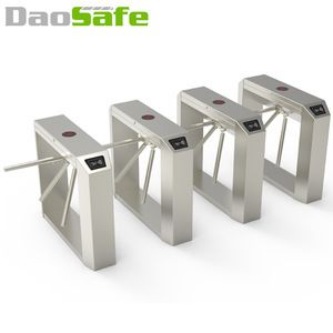Automatic Tripod Turnstile Gate wiht ZKteco Access Control System